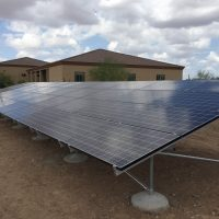 11Kw Ground Mounted Solar array in Surprise